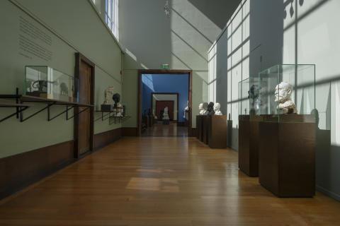 Foto 1: Jubileumsutstillingen PARALLELLER. Gustav Vigeland og hans samtidige