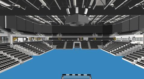 Eskilstuna Arena - en multiarena för idrott, konserter och mässor