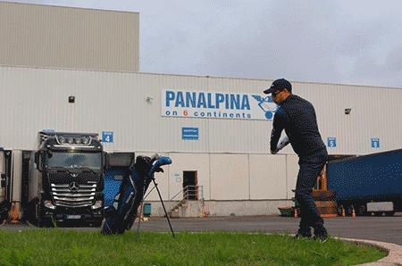 Akim Bendriss - Panalpina France - participe au Lexus ProAm de Golf