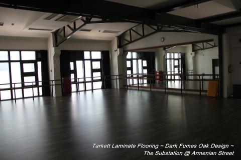 Dance Studio Flooring Project by Evorich (The SUBSTATION @ Armenian Street)