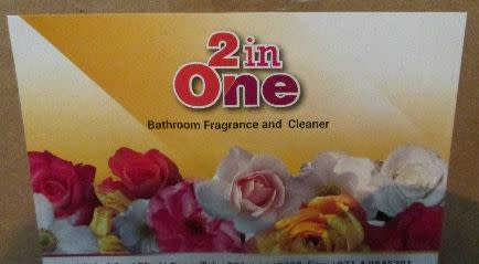 Op Majestic bathroom fragrance used for smuggling NW02/16