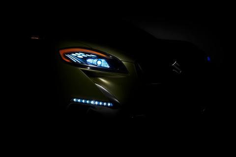 Suzuki S-Cross debut på Paris Motorshow 2012