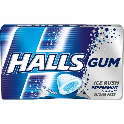 Gumy Halls Peppermint