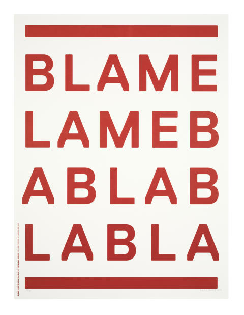 14 RED PRINTS – Blame – Lars Fuhre
