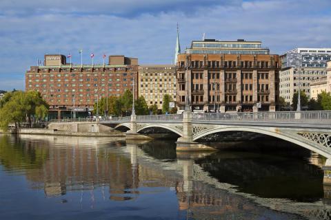 Sheraton Stockholm day light