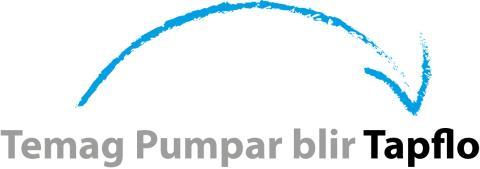 Nu går den svenska industrikoncernen Tapflo Group samman med Temag Pumpar.