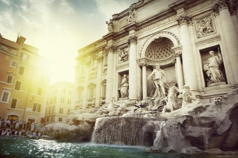 Fontana di Trevi, Rooma, Italia