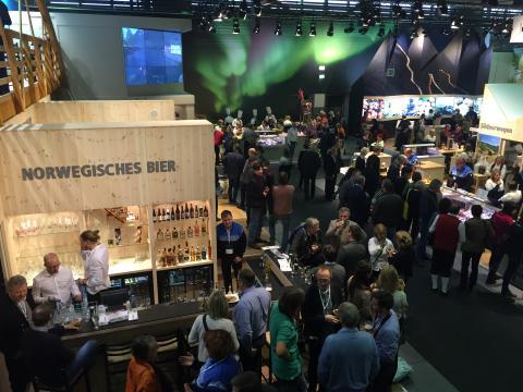 Mehr als 60 Aussteller aus den Regionen Fjordnorwegen, Fjellnorwegen und Trøndelag präsentieren sich auf der Internationalen Grünen Woche 2018.