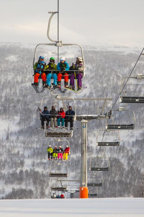 Skidlift, Jämtland Härjedalen