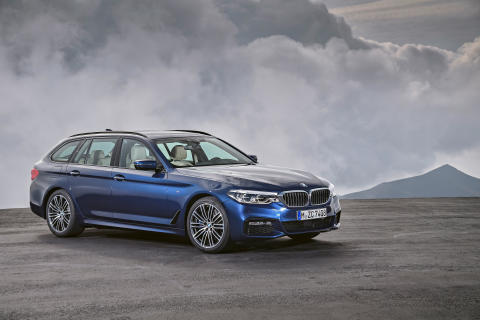 HELT NYA BMW 5-SERIE TOURING