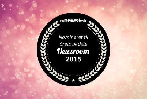 Her er de nominerede til Årets Newsroom 2015