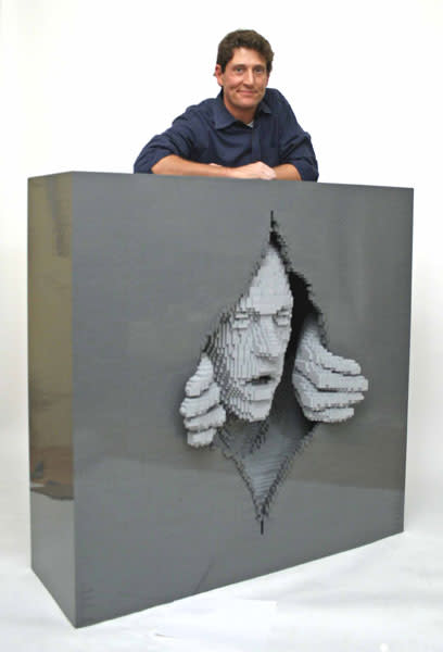 Talking to the man who creates art and emotions ... from Lego