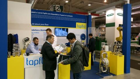 Tapflo Italy at Cibustec in Parma | hall 2 stand D044. Come and visit us !