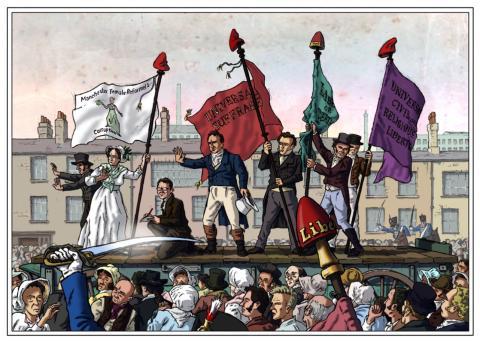 Remembering Peterloo – free talks at Bury Archives