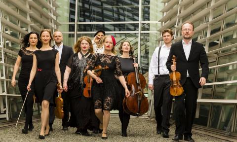 Ung explosiv entusiasm när Camerata Øresund spelar Vivaldis mästerverk på Kulturkvarteret