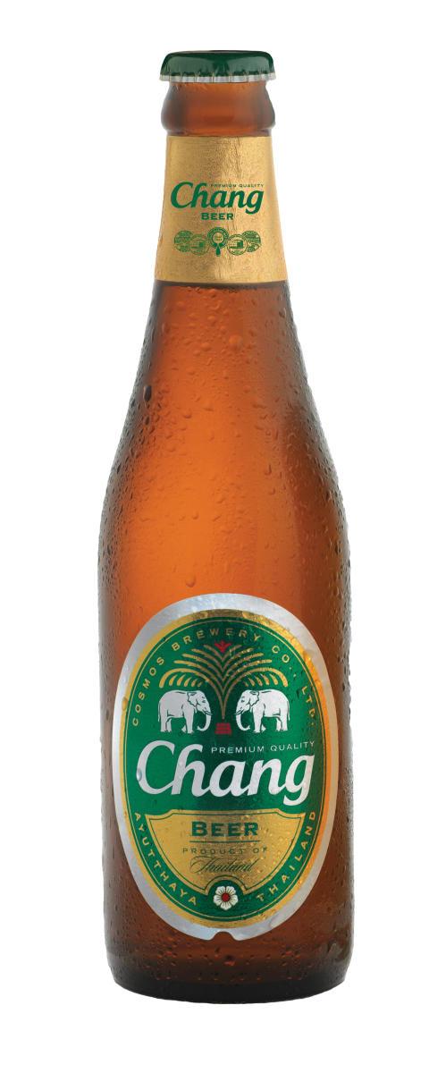 Chang Beer framröstad till Asiens bästa premium lager
