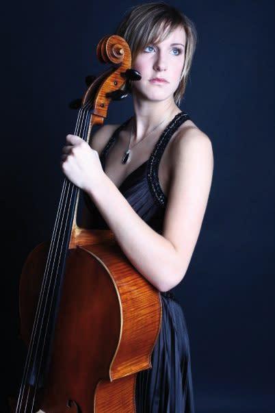Fredrikornas musikstipendium till cellisten Natalia Goldmann
