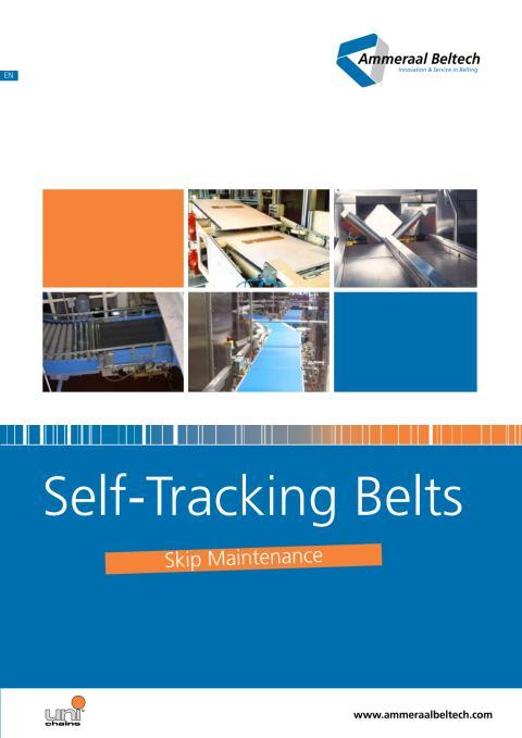 Self-Tracking Belts, Skip Maintenance