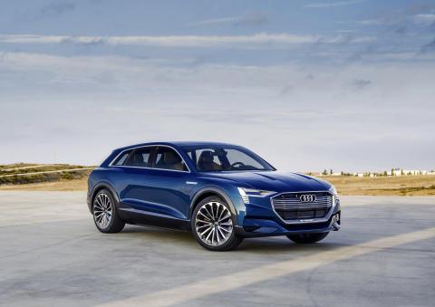 Audi e-tron quattro concept - static front