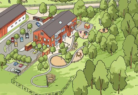 Skövdebostäder bygger förskola på Aspö