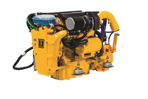 Hi-res image - VETUS - VETUS F-LINE 4-cylinder common rail engine