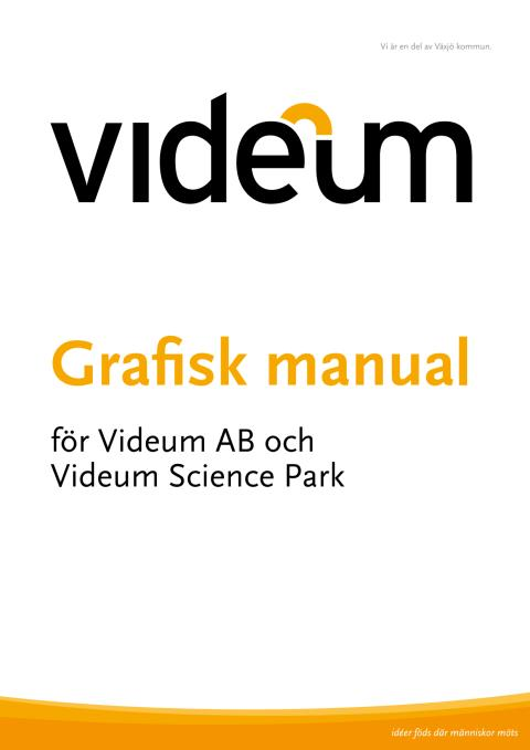 Grafisk manual Videum
