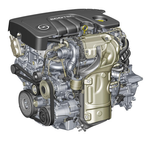 Ny 1,6 CDTI från Opel