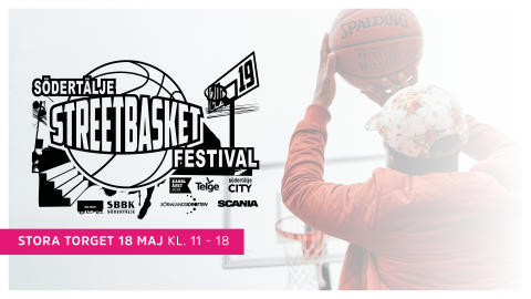 Södertälje Streetbasket Festival flyttar till Centrum