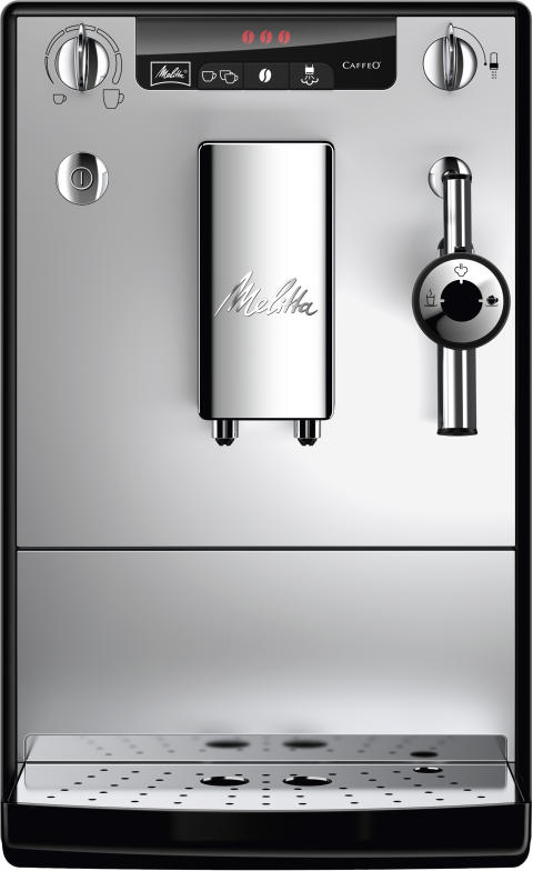 CAFFEO® SOLO® & Perfect Milk (svart/silver)