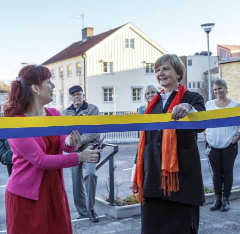 Ombyggd akutmottagning vid Lasarettet i Enköping invigd