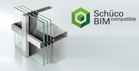 Schüco utvider sitt spekter av BIM-objekter