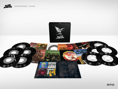 "BLACK SABBATH 'SUPERSONIC YEARS – THE SEVENTIES SINGLES BOX SET' - LIMITED EDITION 7"" VINYL BOX SET SLÄPPS DEN 8 JUNI"