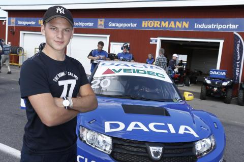 Renault Clio Cup-mästaren Wernersson i dubbla STCC-test