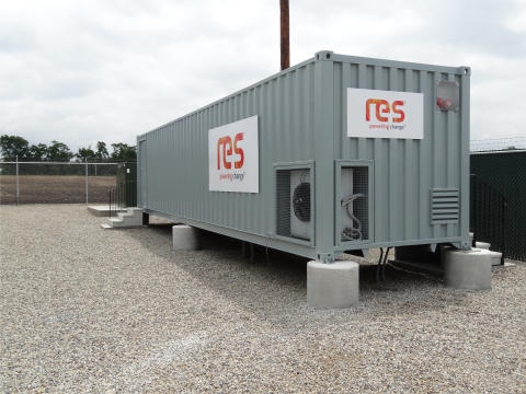 RES marks its first energy storage project in the UK