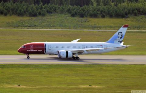 Norwegians første Dreamliner