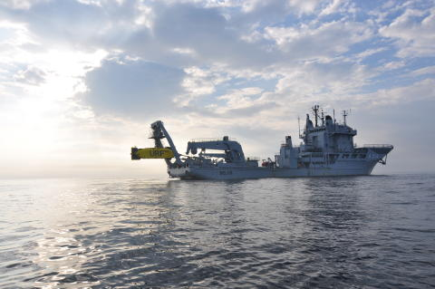 Ett unikt tillfälle att besöka dykeri och ubåtsräddningsfartyget HMS Belos i Göteborg