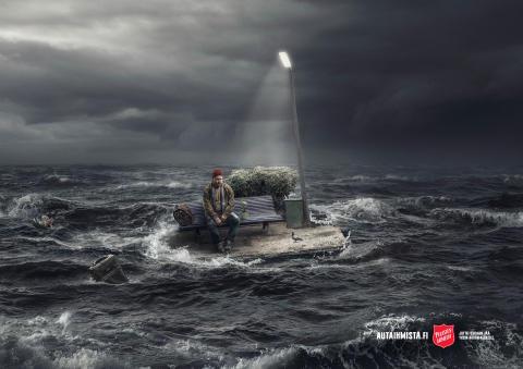 Pelastusarmeijan mainoskuvalle kultaa valokuvauksen MM-kisoissa