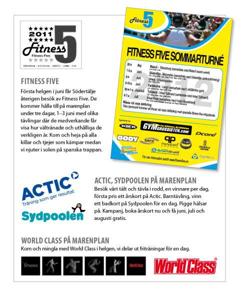 Fitness Five i Södertälje!