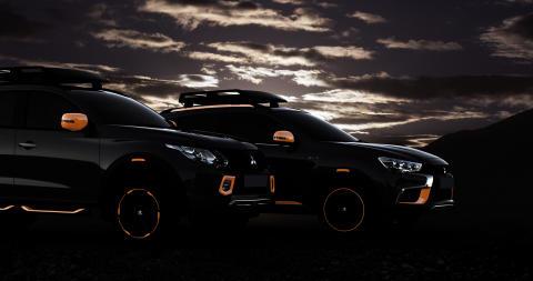 Mitsubishi auf dem Genfer Autosalon 2016: volles SUV-Programm