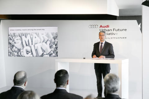 Audi brings automated parking to the Boston area - Rupert Stadler, øverste chef for AUDI AG