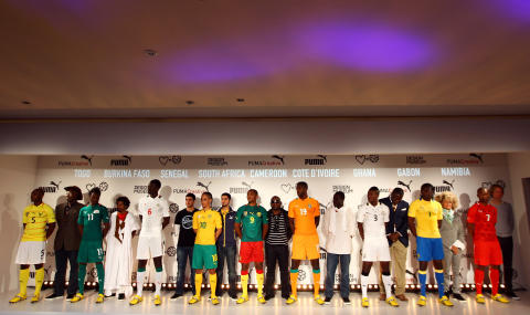 PUMA LAUNCHES 2012 AFRICAN FOOTBALL KITS THROUGH A UNIQUE ARTIST  COLLABORATION AND EXHIBITION AT DESIGN MUSEUM be15872ec