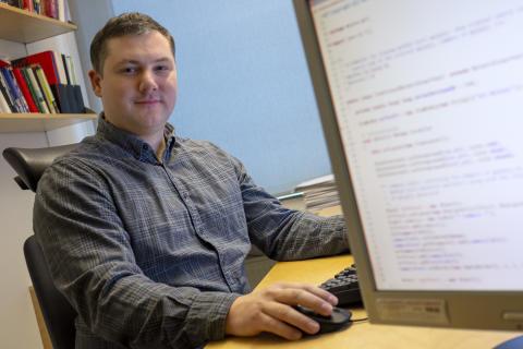 Studenter och anställda på Volvo IT löser problem tillsammans