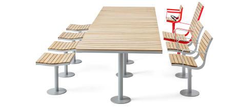 Parco konferens grupp, design Broberg & Ridderstråle