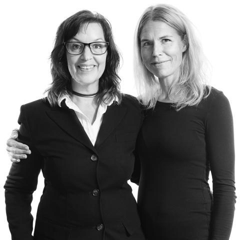 Veronica Ryd och Anna Wikfalk
