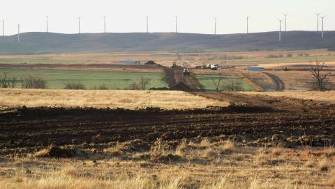 RES is Constructing the Redbed Plains Wind Farm