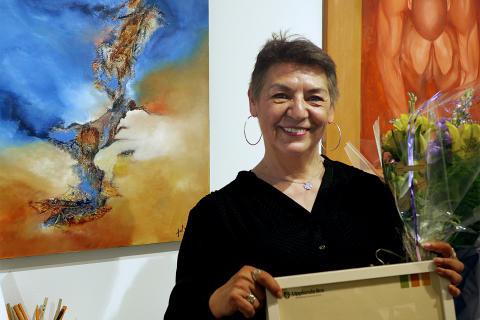 Pressinbjudan: Vernissage med Årets Upplands-Brokonstnär Patricia Zuniga