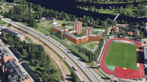 Riksbyggen i projekt för 250 nya bostäder i Klara, Karlstad