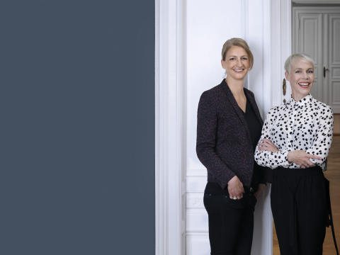Caroline Theissen und Katie Taylor, Managing Team Superunion Berlin