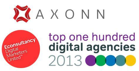 Axonn Media ranked one of the UK's top digital agencies