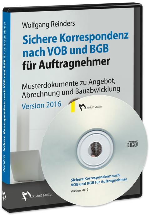 Sichere Korrespondenz nach VOB und BGB für Auftragnehmer 3D (png)